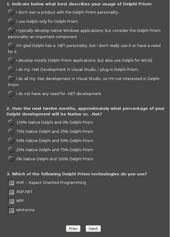Survey Page 4